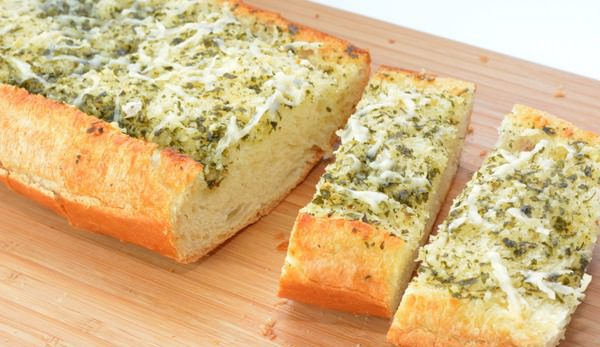 Garlic Bread with Parmesan Cheese