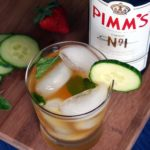 Pimms cup cocktail