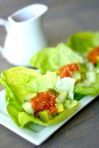 avocado ginger salad