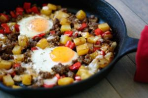 Sausage and Egg Breakfast Skillet