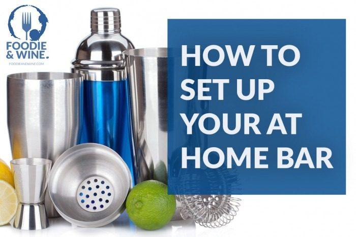 bar basics how to set up your at home bar. Black Bedroom Furniture Sets. Home Design Ideas