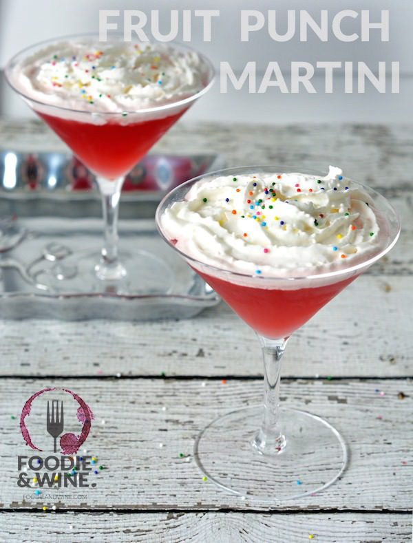 Fruit Punch Martini