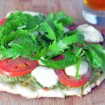 Pizza  - Grilled – Margarita with Arugula