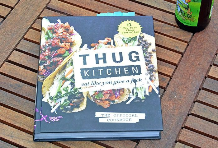 Thug Kitchen Cookbook - book cover