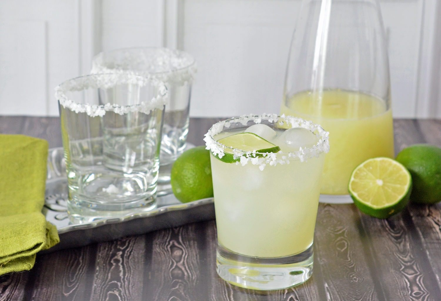 Margarita Mix and Classic Margarita Recipe