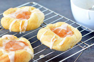 Overnight Apple Danish