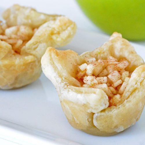 Caramel Apple Pie Bites