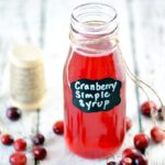 Cranberry Simple Syrup