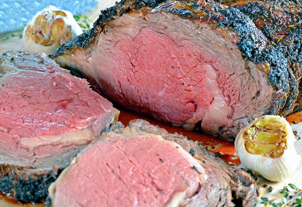 Melt-in-Your-Mouth Garlic Herb Prime Rib Recipe