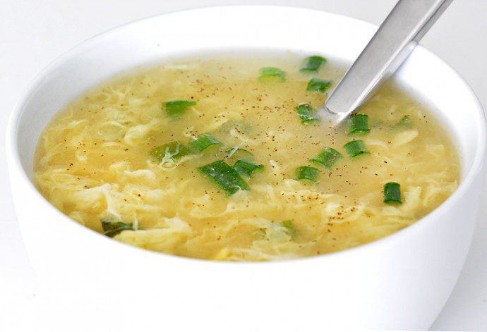 10 Minute Egg Drop Soup