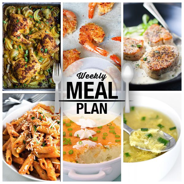 Meal Plan Week 1