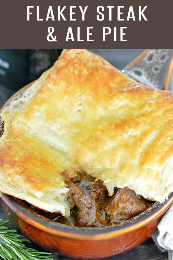 Hearty and Tender Steak and Ale Pie - Foodie and Wine