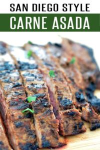 Authentic San Diego Style Carne Asada Marinade Recipe! Perfect for Carne Asada Tacos or Carne Asada Burritos. Better Carne Asada than you'll find at your local taqueria. This Mexican Food Recipe is perfect for Cinco de Mayo! More recipes at FoodieandWine.com #mexicanrecipes #dinnerrecipes #tacorecipes #burritorecipes #cincodemayorecipes