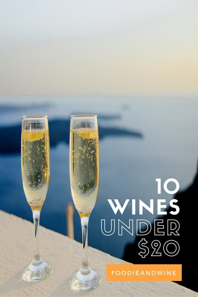 Top 10 Wines Under $20! Perfect list to help elevate your wine game or pick a wine for your upcoming party. This wine list includes red, white and champagne! Merlot, Riesling, Prosecco and more. Did your favorite budget wine make the list??