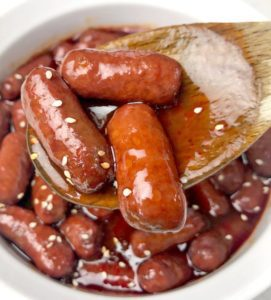 Little Smokies with Barbecue sauce - Barbecue