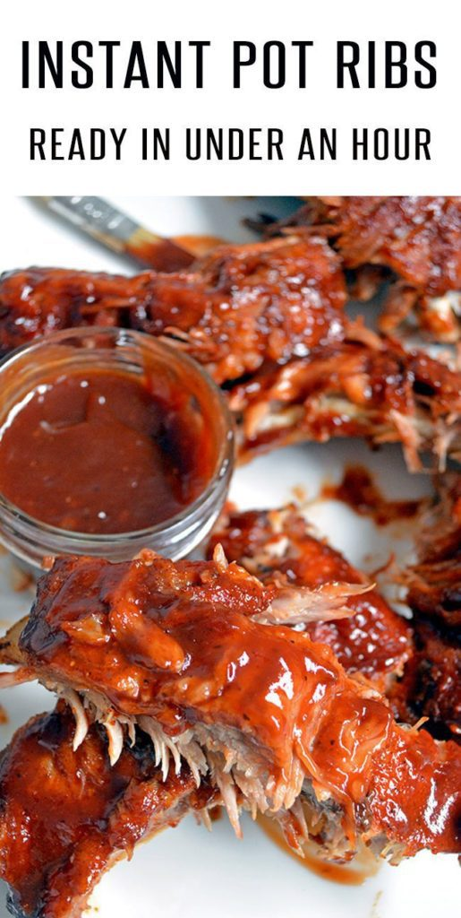 Easy Instant Pot Ribs (Pork or Beef)