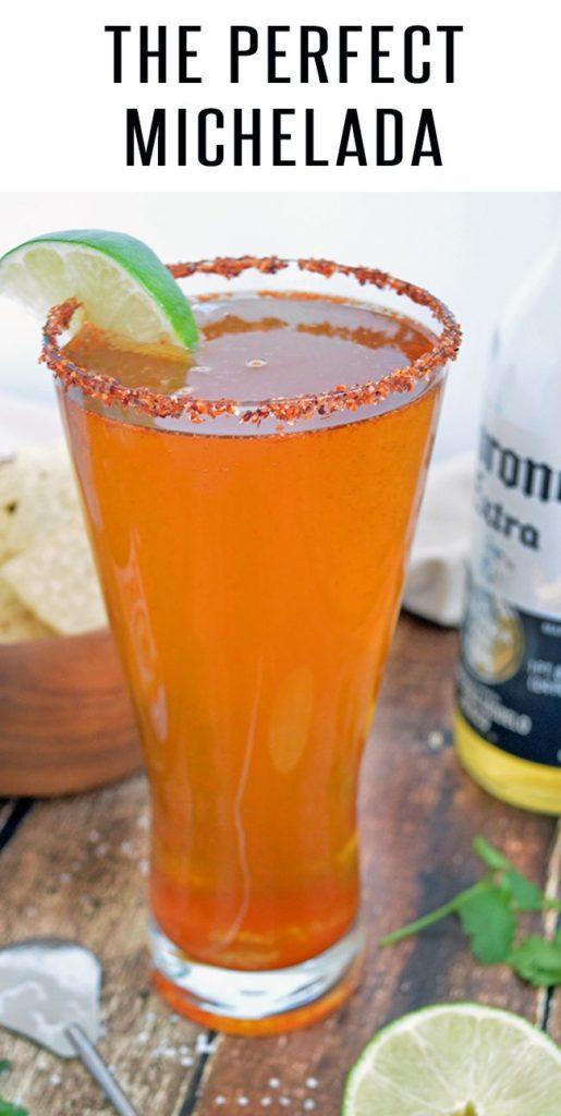 MIchelada Recipe - with Corona