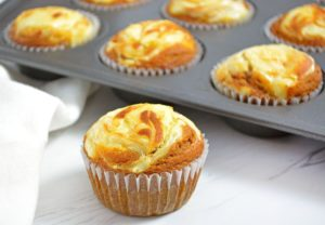 Pumpkin Cream Cheese Muffins