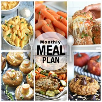 Monthly Menu Plan