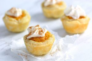 Pumpkin Pie Bites - close up