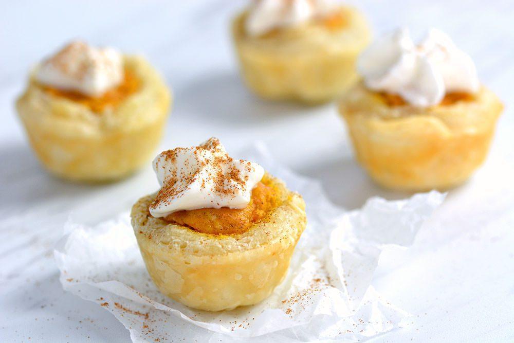 Pumpkin Pie Bites - close up