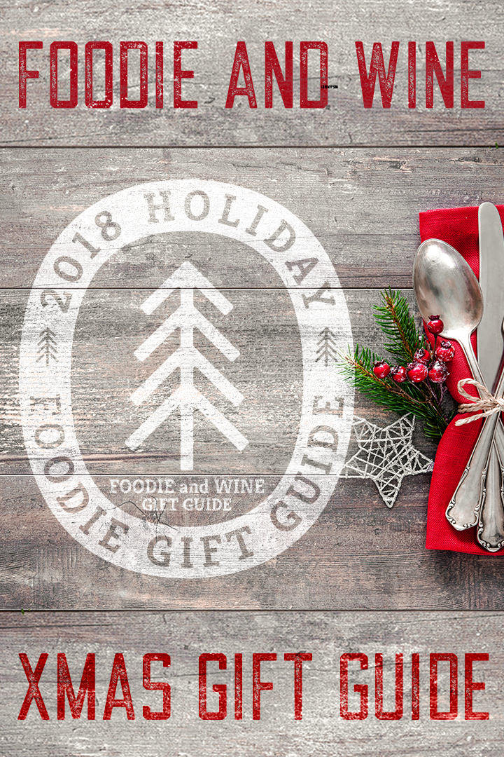 Food and Wine Gift Ideas for 2018!! Tons of unique finds for the foodie in your life. Our favorite passion fruit cocktail syrup is included!! #christmasgiftideas #holidaygiftideas #giftguide #foodgifts #christmas Click to see the list - foodieandwine.com