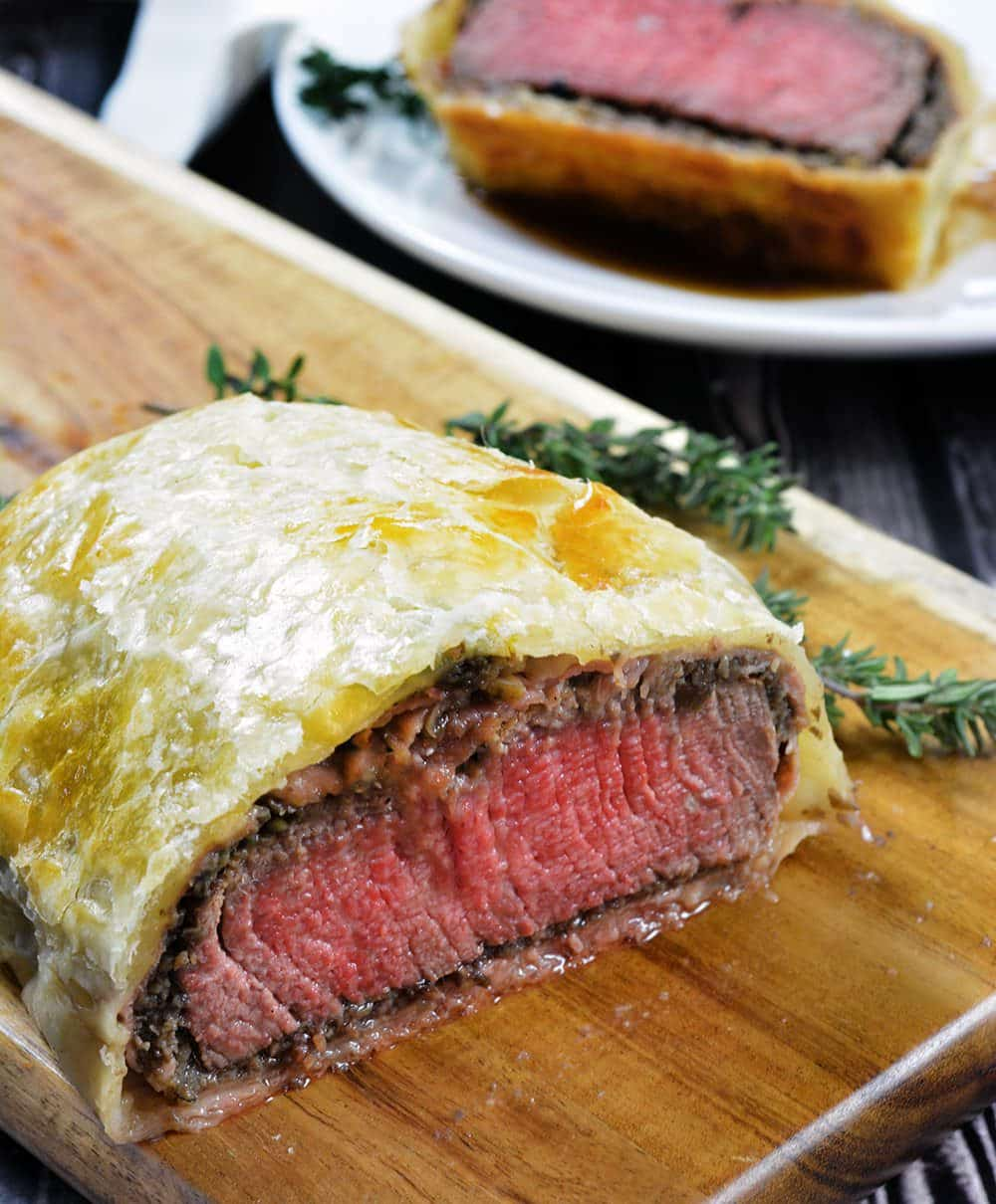 Individual Beef Wellington