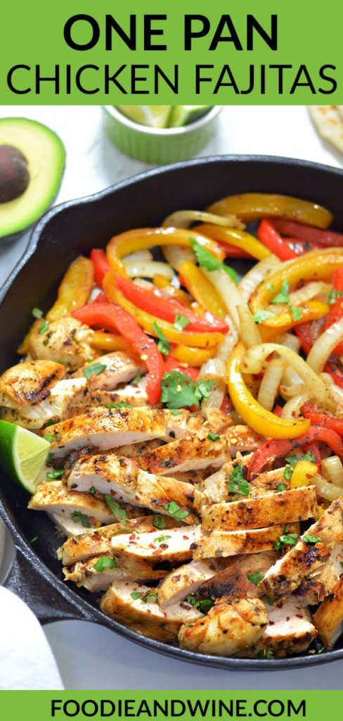Chicken Fajitas Pin